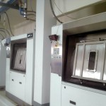 barrier washer for hospital laundry