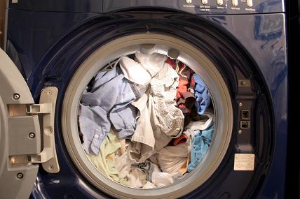 Overloaded washer-extractor